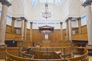 court proceeding audio typing